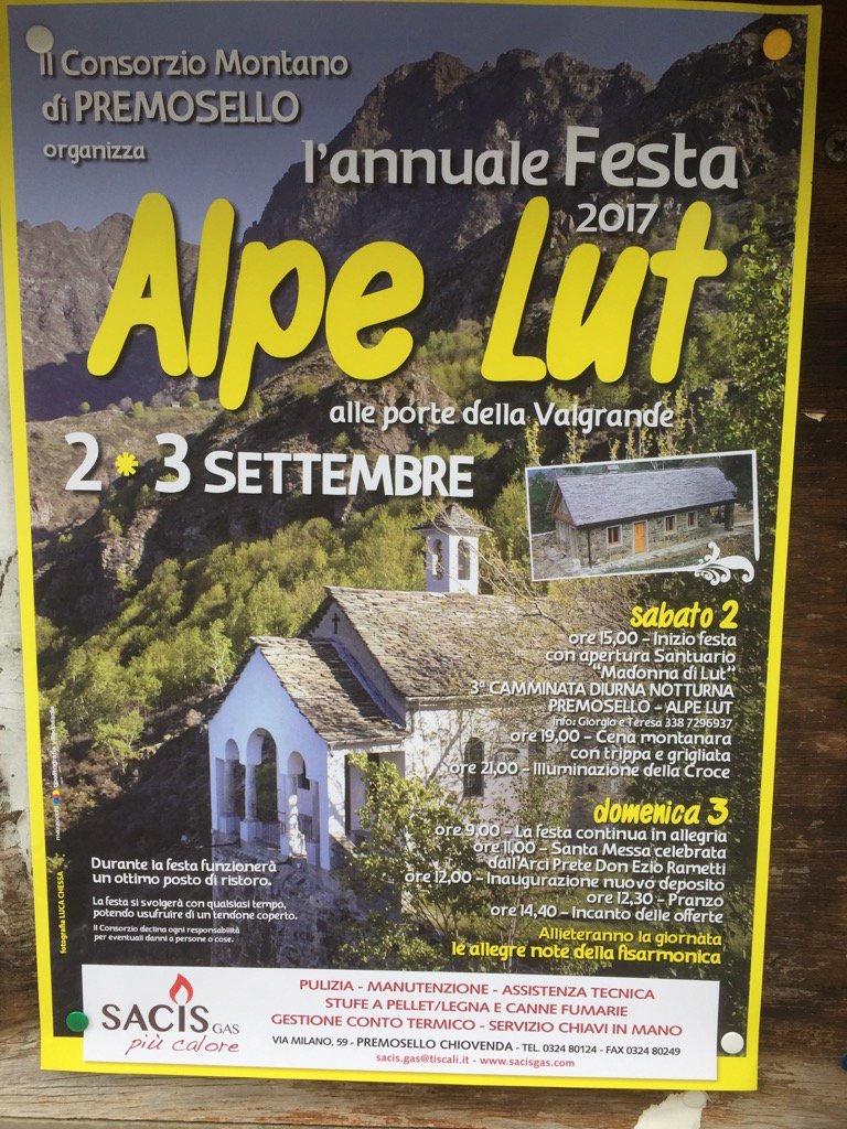 Alpe Lut 2017 Locandina