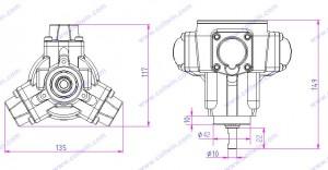 1/8HP Air Pneumatic Motor China Manufacturer & Exporter Of