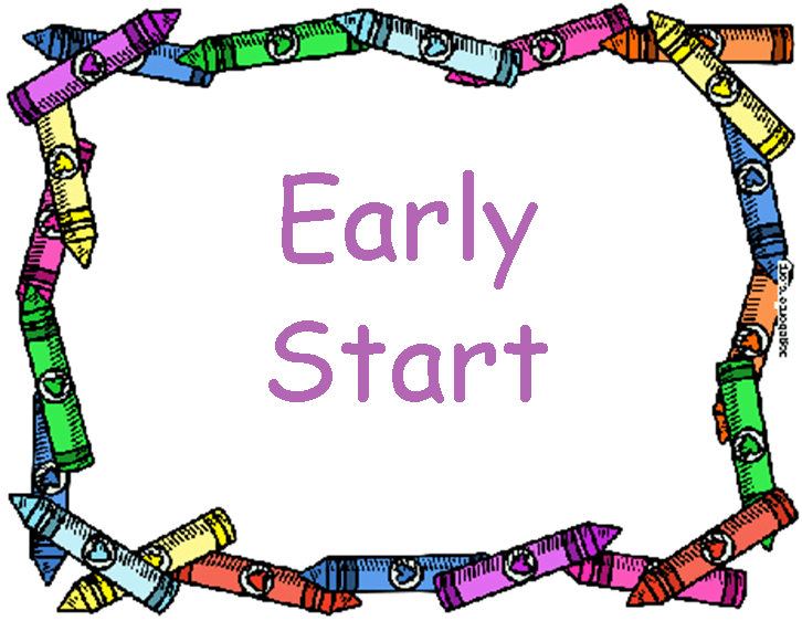 Image result for start earlier clipart
