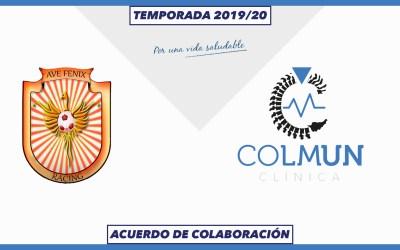 LA CLÍNICA COLMUN Y EL AVE FÉNIX – RACING FÉMINAS TRABAJARÁN JUNTOS DURANTE LA TEMPORADA 2019/20