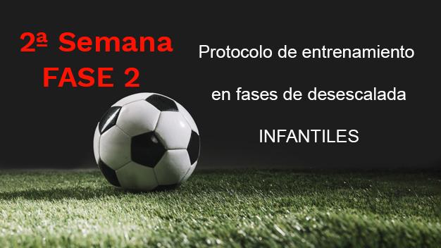 Semana 2 FASE 2: Protocolo de entrenamiento para INFANTILES