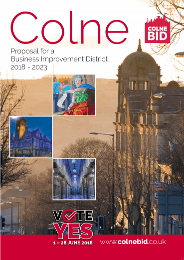 image of Colne BID Proposal cover