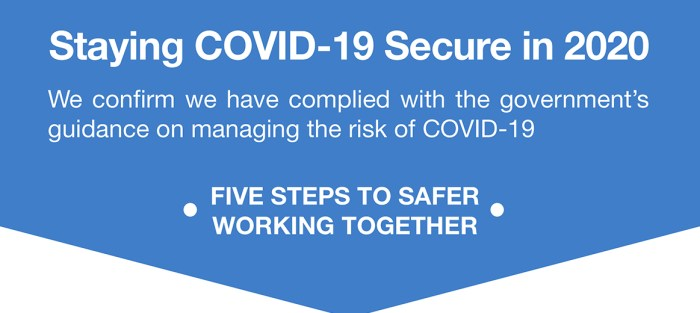 staying COVID secure