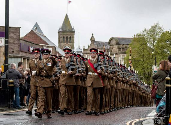 Duke of Lancaster's Regiment Colne