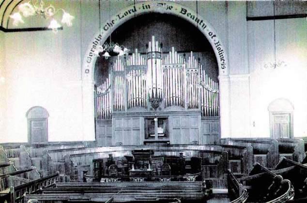 Interior of Waterside Chapel