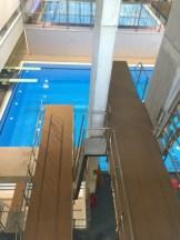 Pavimento especifico para plataformas de saltos