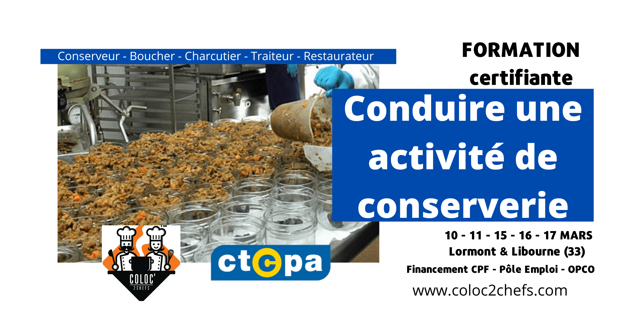 Formation Conserverie