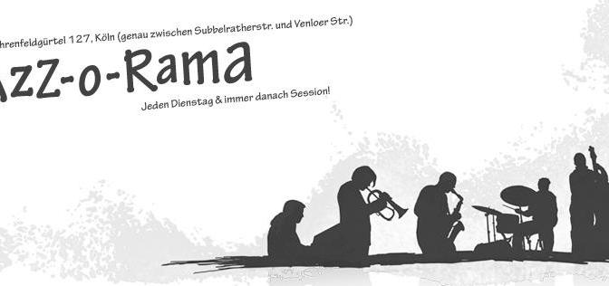 Jazz – O – Rama im Artheater Programm im April