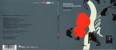 Mal Waldron & Nicolas Simion Duo: Misterioso – Live in Zürich