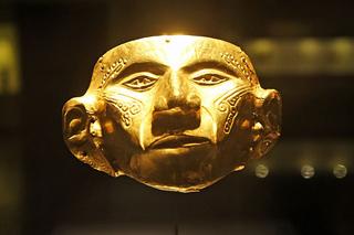 Gold Mask, Gold Museum, Bogotá