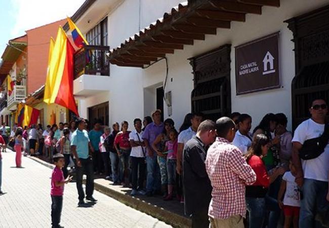 Visita la Casa natal de Santa Laura  Colombia Travel