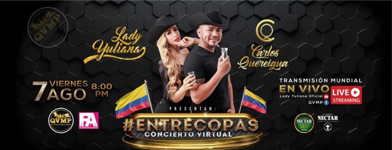 Entre Copas con Lady Yuliana y Carlos Quereigua