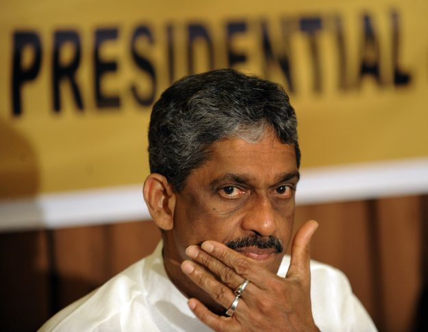 Sri Lanka's former army chief and defeat