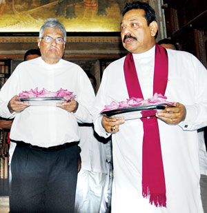 Ranil-and-Mahinda - colombo telegraph
