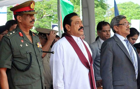Three alleged war criminals - Fonseka, Mahinda and Gotabaya