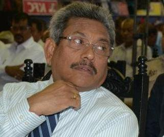 Secretary to the Ministry of Defence, Gotabaya Rajapakasa