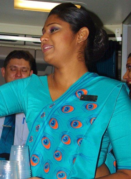 A sri Lankan Airline worker - File photo