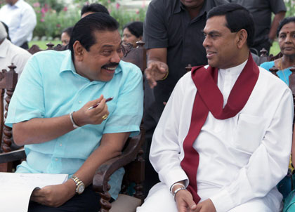 Mahinda and Basil