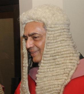 De facto Chief Justice Mohan Pieris