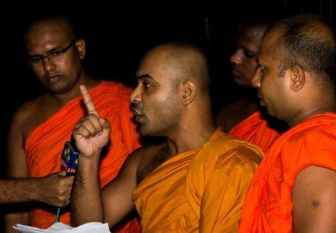 Even the most respected Maha Sangha at Kandy are unable to condemn the activities of the BBS and the Military forces.