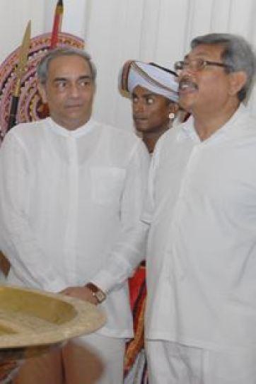 Gotabaya and Mohan Pieris