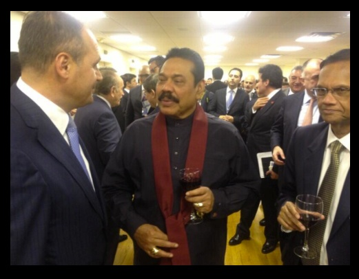 Mahinda Rajapaksa Drinks