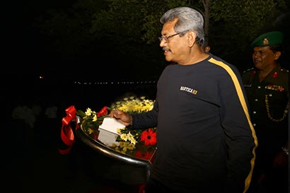 Secretary to the Ministry of Defence Gotabaya Rajapaksa