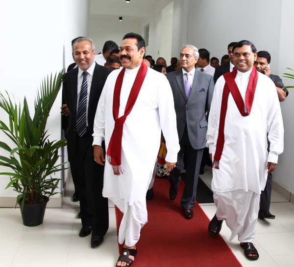Mahinda, Mohan and Basil