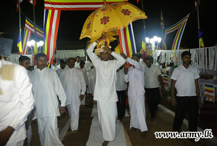 Gota Opens New Dagoba In Kilinochchi – Colombo Telegraph