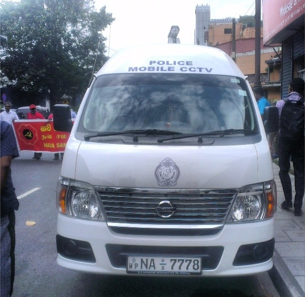 CCTV Sri Lankan Police