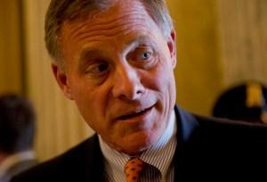 Senator of North Carolina Richard Burr  Photo courtesy Tom Williams/CQ Roll Call