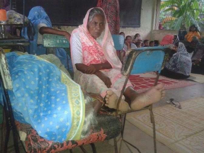 Muslim refugee Aluthgama