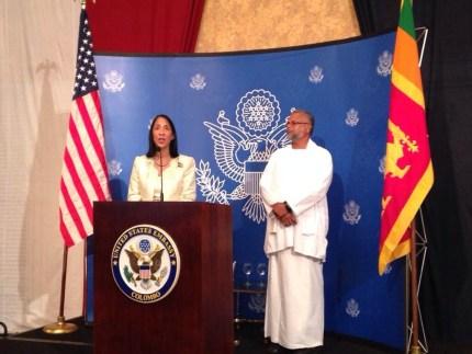 US Ambassador and Douglas | Photo: @AiyoMalli