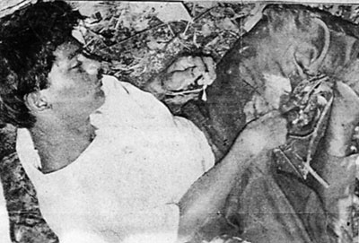 Ragunathan's body