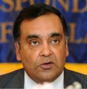 Indian High Commissioner in Sri Lanka, Y.K. Sinha