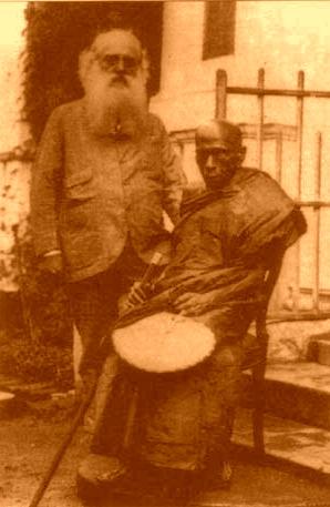 Hikkaduwe Sri Sumangala Maha Thera with Col. Henry Steele Olcott