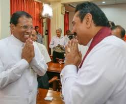 Mahinda and Maithri