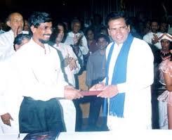 Maithripala and JVP secretary Tilvin