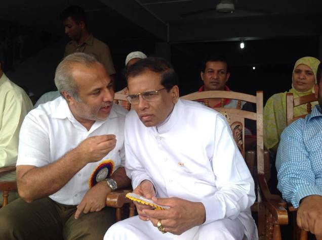Rauff and Maithripala