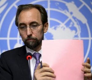 Zeid Ra'ad Al Hussein - The UN High Commissioner for Human Rights