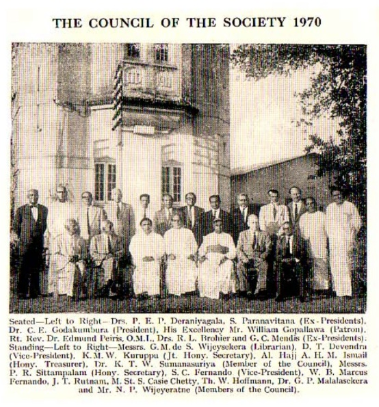 the council of the RASSL  of 1970