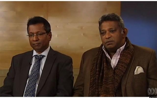 Weliamuna and Sarawanamuttu