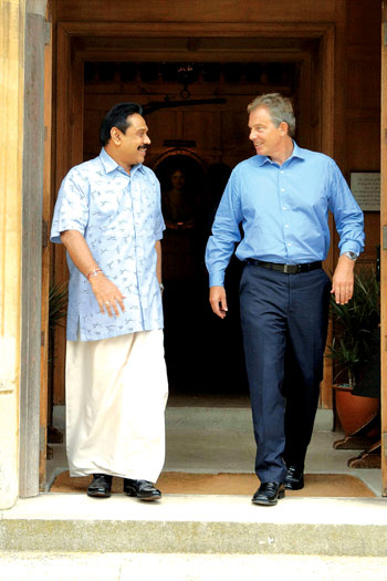 Mahinda Tony Blair