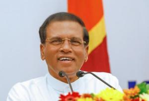 President Mauthripala Sirisena