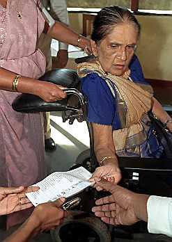 SRI LANKA-ELECTIONS-BANDARANAIKE