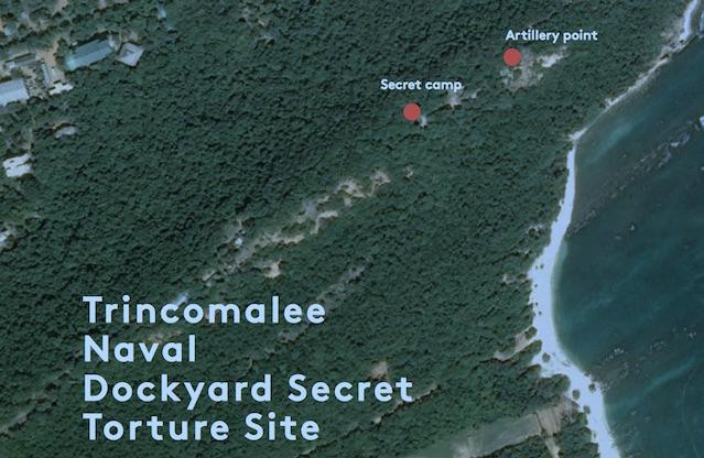 Trincomalee Naval Dockyard Secret Torture Site