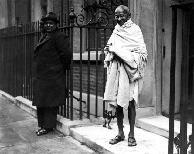 Mahatma Gandhi In London 1931