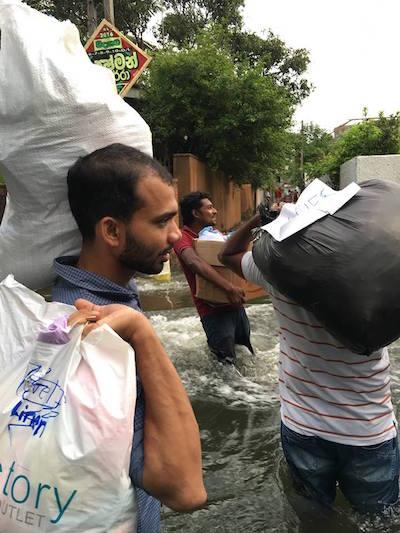 Flood Sri Lanka 2016