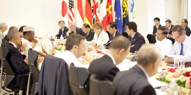 Maithripala Japan G7 2016