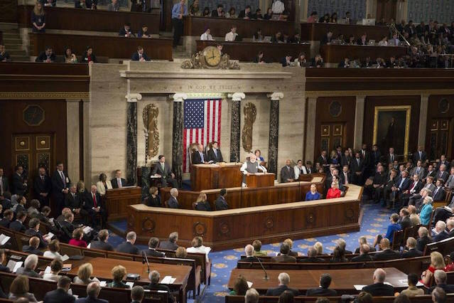 Narendra Modi addressed a joint session of the US Congress June 08 2016 | Pic His FB